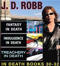 J.D Robb IN DEATH COLLECTION books 30-32