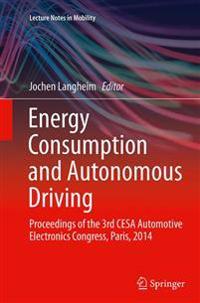 Energy Consumption and Autonomous Driving