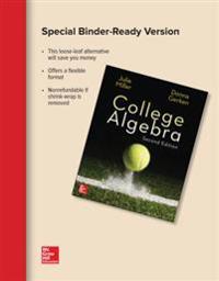 Loose Leaf Version for College Algebra