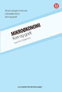 Mikroøkonomi; kort og godt