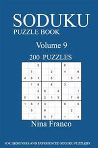 Sudoku Puzzle Book: 200 Puzzles-Volume 9