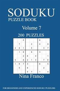 Sudoku Puzzle Book: 200 Puzzles-Volume 7