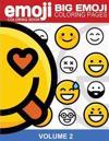 Emoji Coloring Book Big Emoji Coloring Pages Vol. 2: Emoji Stuff, Emoticon Coloring Book