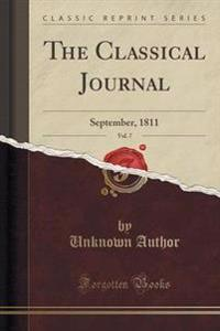 The Classical Journal, Vol. 7
