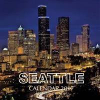 Seattle Calendar 2017: 16 Month Calendar