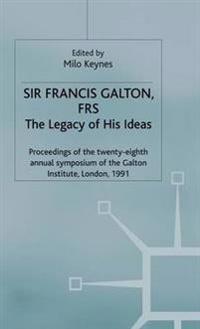 Sir Francis Galton, Frs