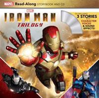Iron Man Trilogy Read-Along Storybook and CD [With Audio CD]