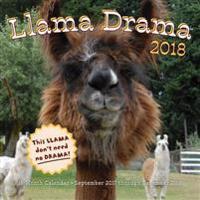 Llama Drama 2018 Calendar