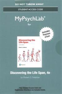 Mypsychlab with Pearson Etext -- Standalone Access Card -- For Discovering the Life Span