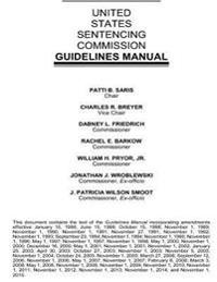 United States Sentencing Commission Guidelines Manual 2015