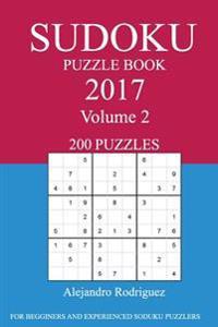 Sudoku Puzzle Book: 2017 Edition - Volume 2
