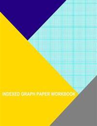 Indexed Graph Paper Workbook: 12 Lines Per Inch
