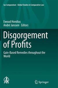 Disgorgement of Profits