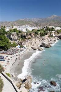 Beach at Nerja in Southern Spain Journal: 150 Page Lined Notebook/Diary