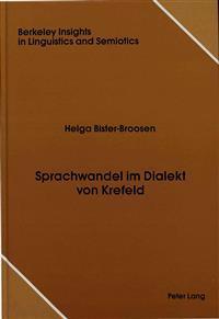 Sprachwandel Im Dialekt Von Krefeld