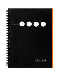 Whitelines Organize A4 LLLS Black