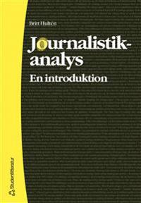 Journalistikanalys: en introduktion