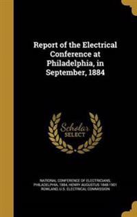 REPORT OF THE ELECTRICAL CONFE