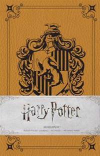 Harry Potter - Hufflepuff Ruled Pocket Journal