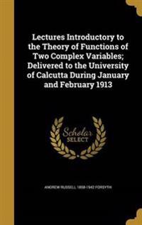 LECTURES INTRODUCTORY TO THE T