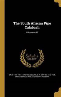 SOUTH AFRICAN PIPE CALABASH VO