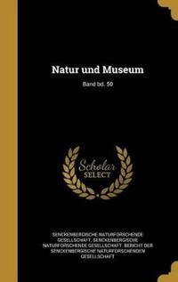 GER-NATUR UND MUSEUM BAND BD 5
