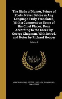 ILIADS OF HOMER PRINCE OF POET