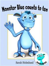 Monster Blue counts to ten