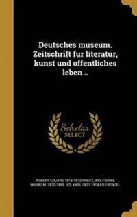 GER-DEUTSCHES MUSEUM ZEITSCHRI