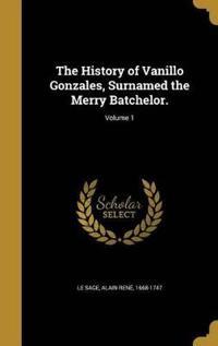 HIST OF VANILLO GONZALES SURNA