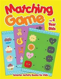 Matching Game For 4 Year Olds