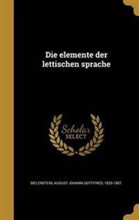 GER-ELEMENTE DER LETTISCHEN SP