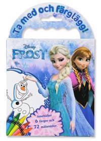 Frost - Ta med och färglägg
