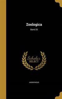 GER-ZOOLOGICA BAND 25