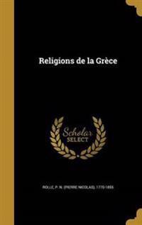 FRE-RELIGIONS DE LA GRECE