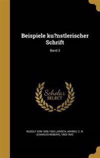 GER-BEISPIELE KUNSTLERISCHER S