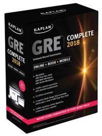 Kaplan GRE Complete 2018