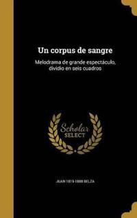 SPA-CORPUS DE SANGRE