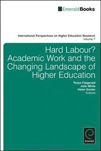 Hard Labour? Academic Work and the Changing Landscape of Higher Education