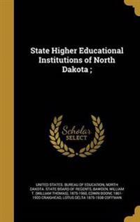 STATE HIGHER EDUCATIONAL INSTI
