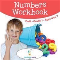 Numbers Workbook   PreK-Grade 1 - Ages 4 to 7