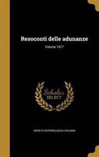 ITA-RESOCONTI DELLE ADUNANZE V