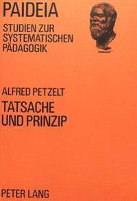 Tatsache Und Prinzip: Philosophie Und Psychologie