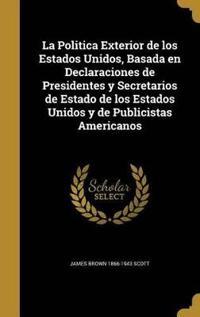 SPA-POLITICA EXTERIOR DE LOS E