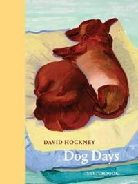 David Hockney Dog Days Sketchbook