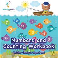 Numbers and Counting Workbook Toddler-Grade K - Ages 1 to 6