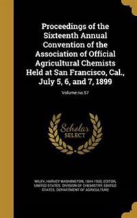 PROCEEDINGS OF THE 16TH ANNUAL