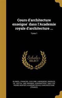 FRE-COURS DARCHITECTURE ENSEIG
