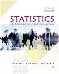Statistics for management and economics + xlstat bind-in