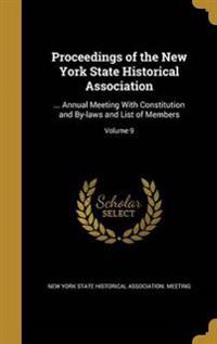 PROCEEDINGS OF THE NEW YORK ST